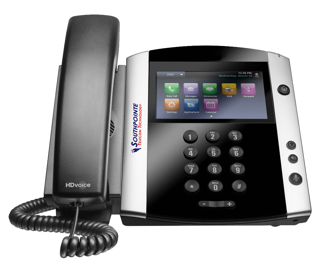 IP based phone pictured